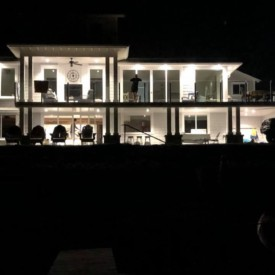 View Home at Night